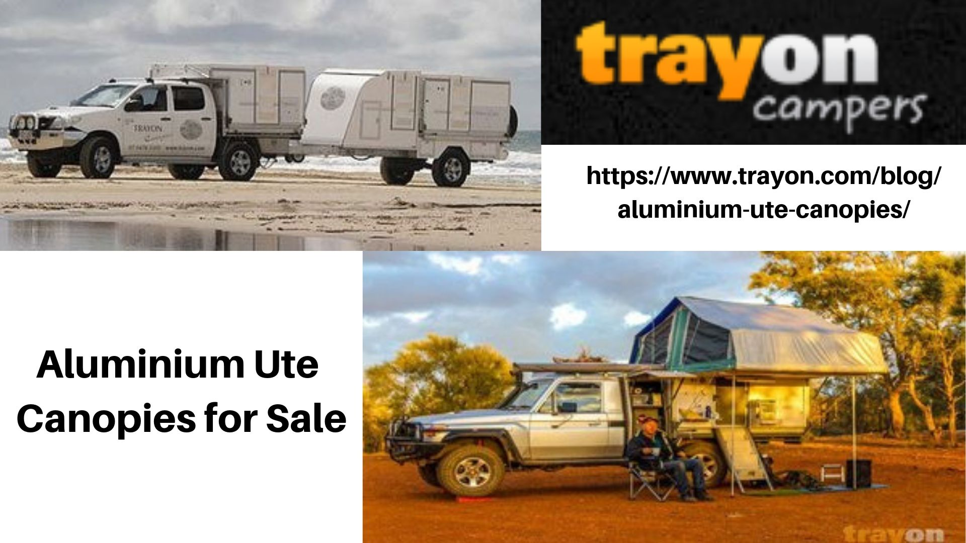 Best Aluminium Ute Canopies for sale! Traymate is the