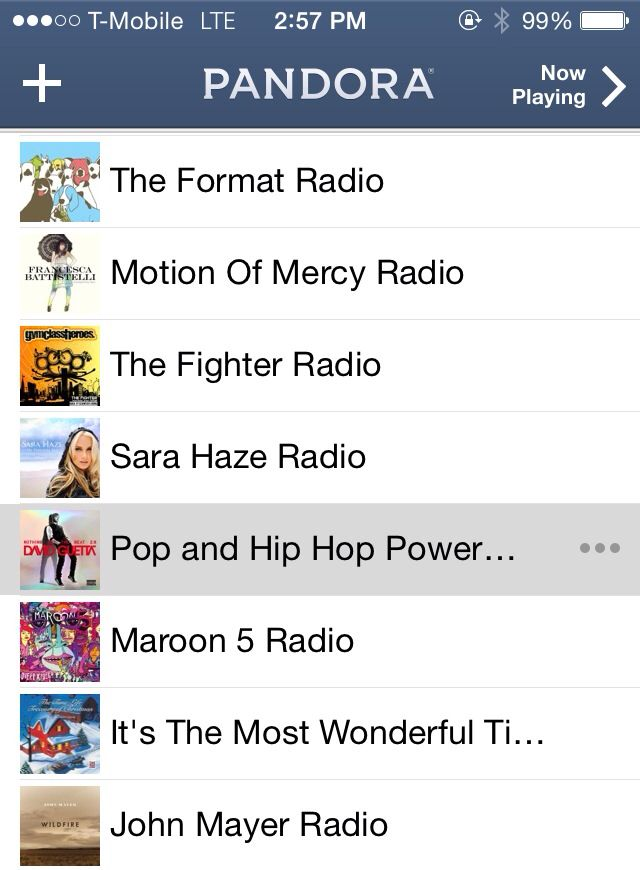 The best Pandora Station to run to! | {move me} | Best