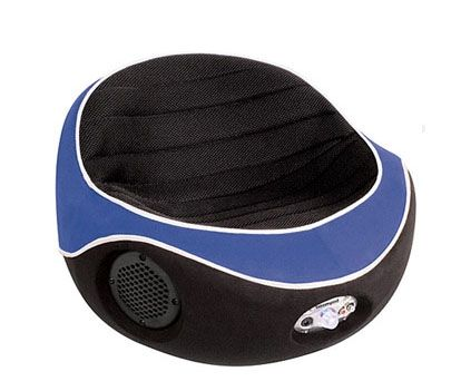 Boom Pod Black and Blue Gaming Chair | Game Rooms | Gaming