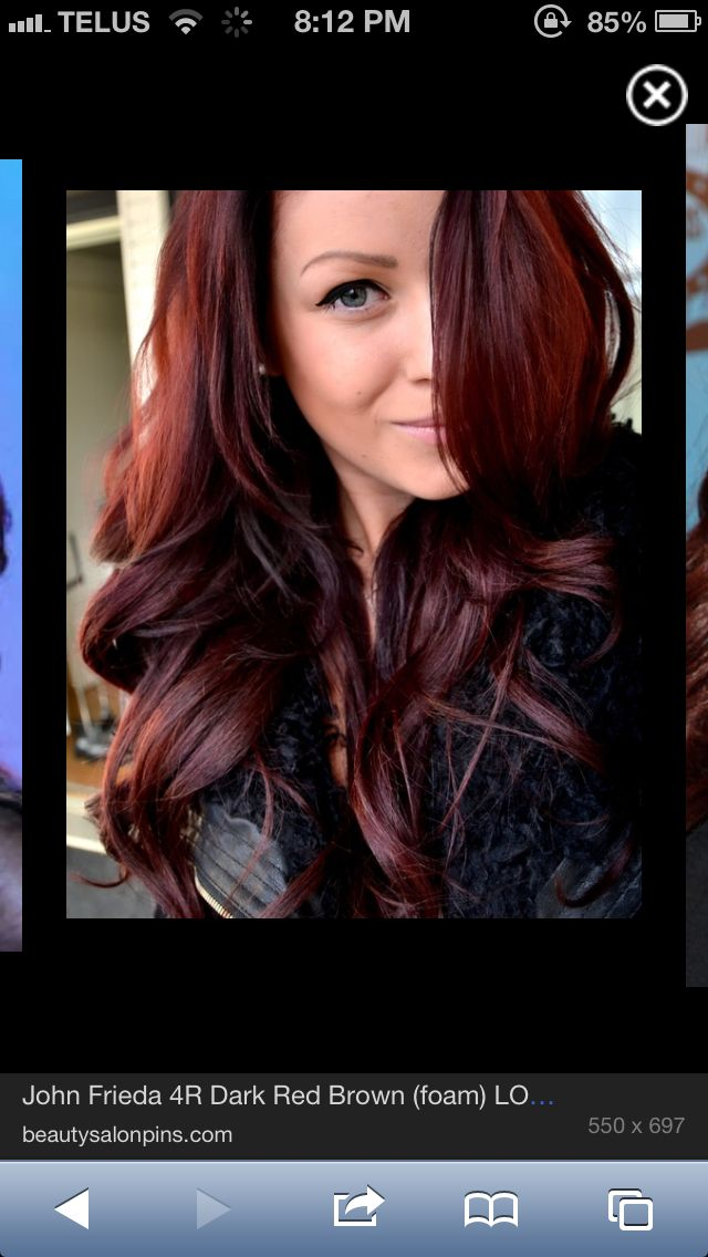 Dark Red Hairallison Hall Too Much Or Good Hair Cut And