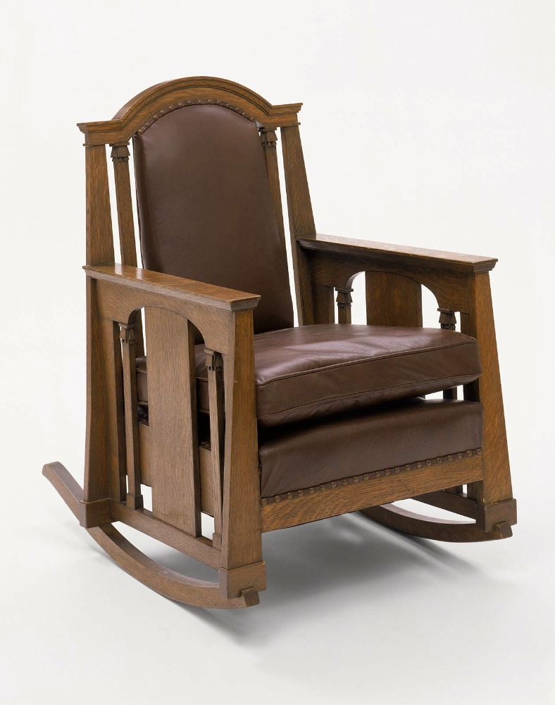Möbel Vey Oak Rocking Chair 1912 Hobbit
