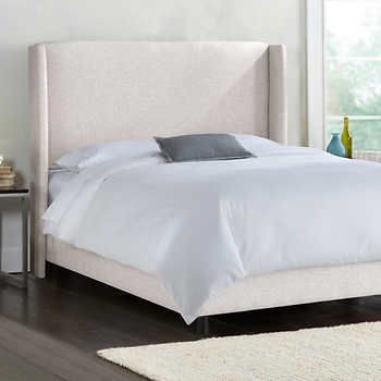 Kimball King Upholstered Bed In Groupie Oyster King Upholstered