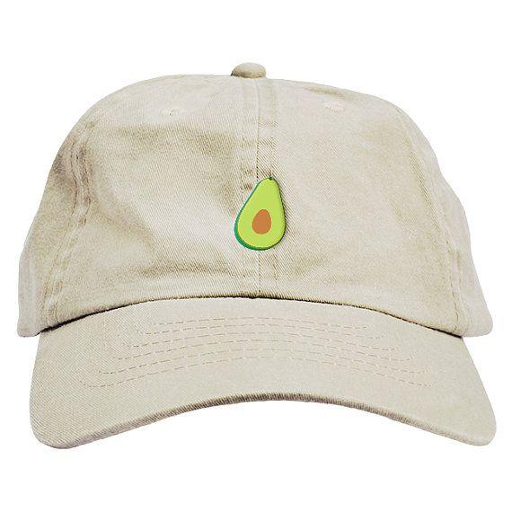Avocado Dad Hat Baseball Cap Low Profile  56c25fc7908