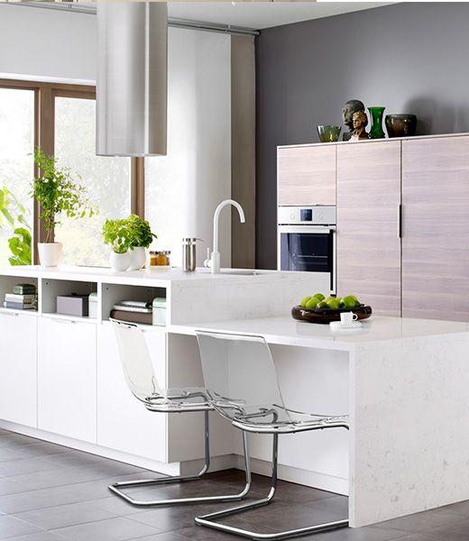 Kies voor een witte VEDDINGE keuken | keuken | Pinterest | Kitchens ...