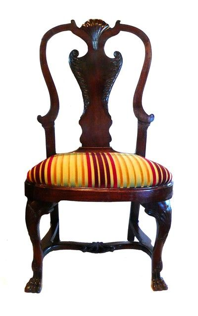 Irish Carved Mahogany Side Chair Circa 1800 Labeled On Bottom 6609 Miller And Beatty Ltd House Furnishers Grafton Street Dublin