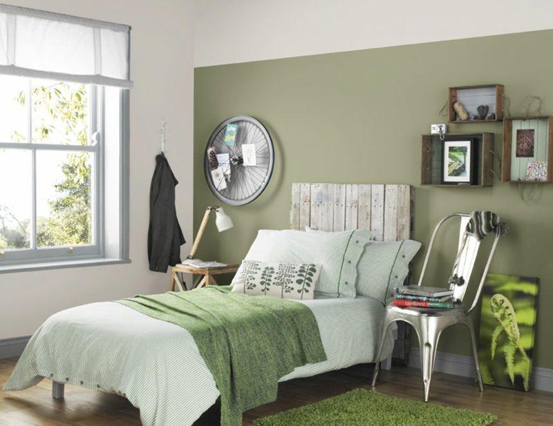 wohnraumgestaltung, wohnraumgestaltung mit farben – 50 beispiele in trendigen wandfarben, Design ideen