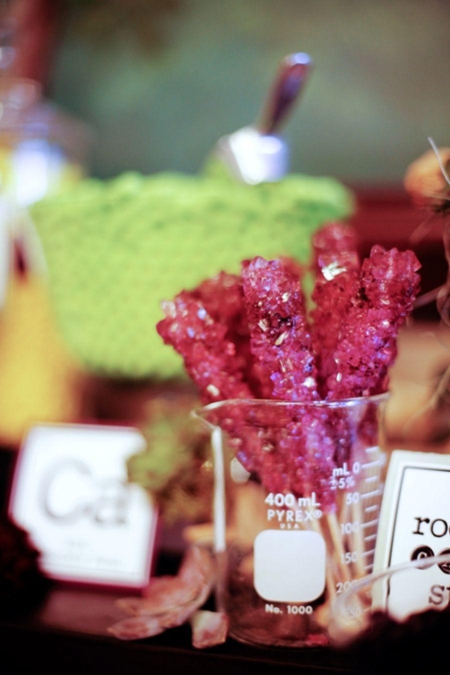 Science Themed Wedding by Amorology   Pinterest   Sugar sticks ...