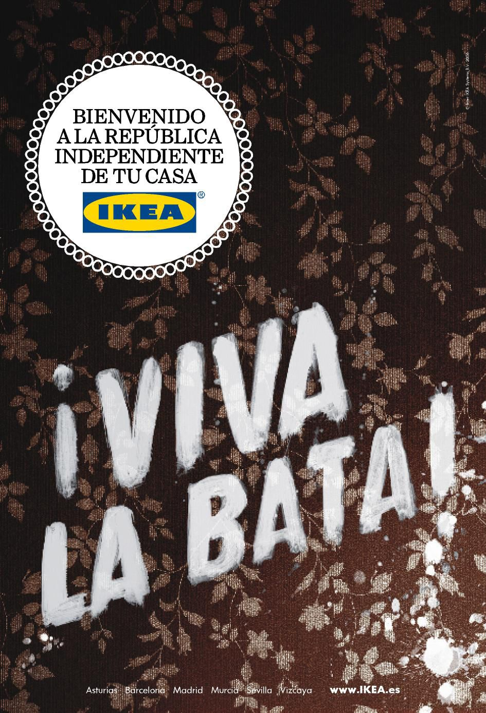 IKEA. Bienvenido a la república independiente de tu casa. Idea & creative direction for scpf.