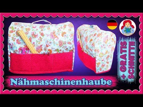 DIY   Nähmaschinenhaube + GRATIS Schnittmuster!!! • Sami Doll ...