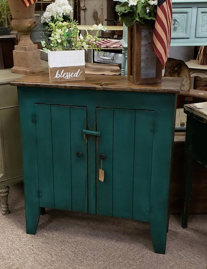Amish Kitchen Pie Safe Jelly Cupboard Storage Cabinet Furniture Metal Copper Tin Unfinished Pine Furniture Pine Furniture Furniture