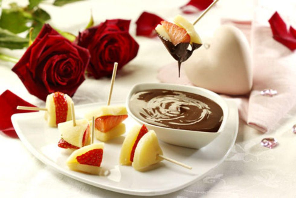 Sjokolade-fondue