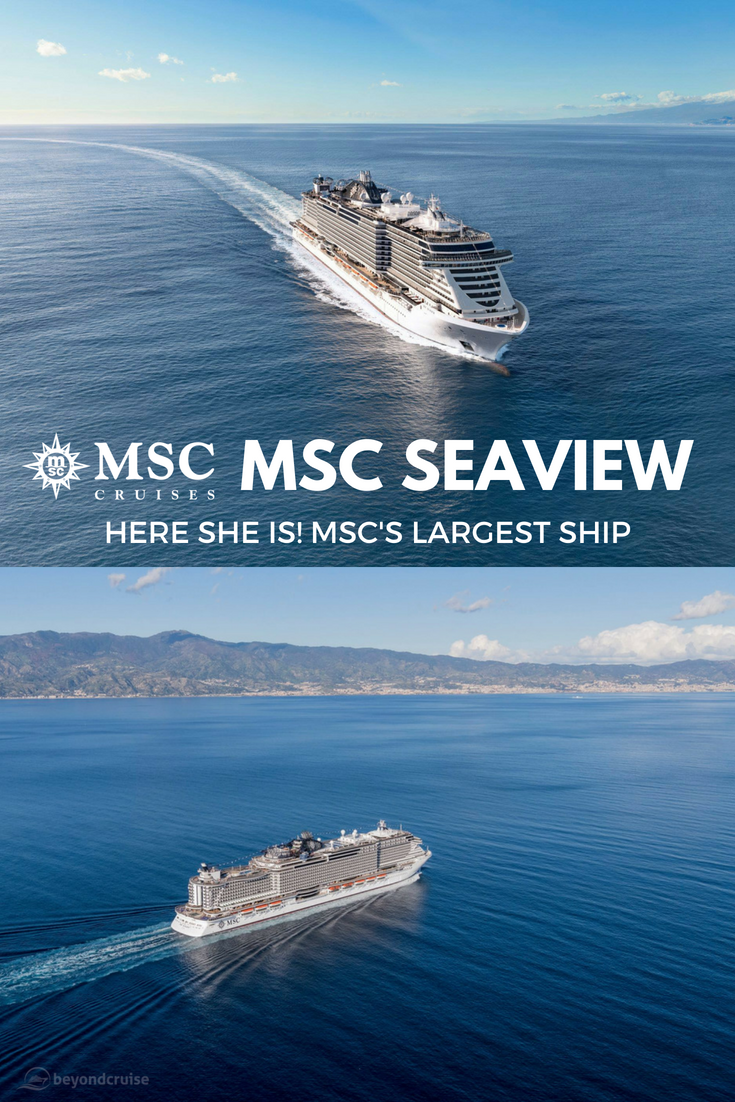 MSC Seaview | Hering