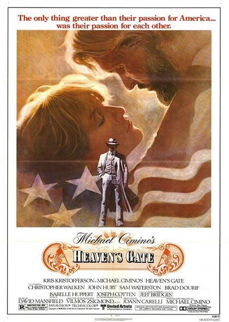 """Heaven's Gate (1980) Michael Cimino  """"Barbed wire and women are the two greatest civilizing agents in the world""""  muito tiro e muita dança  """"Muitas vezes, os grandes fracassos do cinema são mais interessantes que os sucessos."""" - o lucro como legitimador de qualidade"""