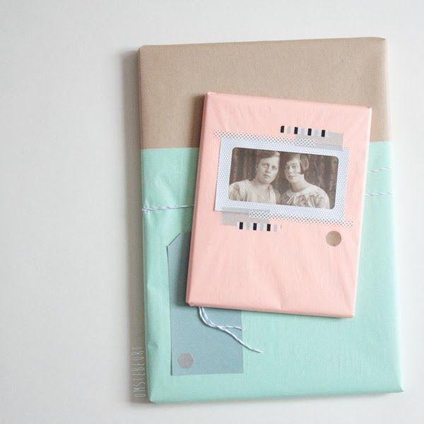 Pastel packings Photo Washi tape