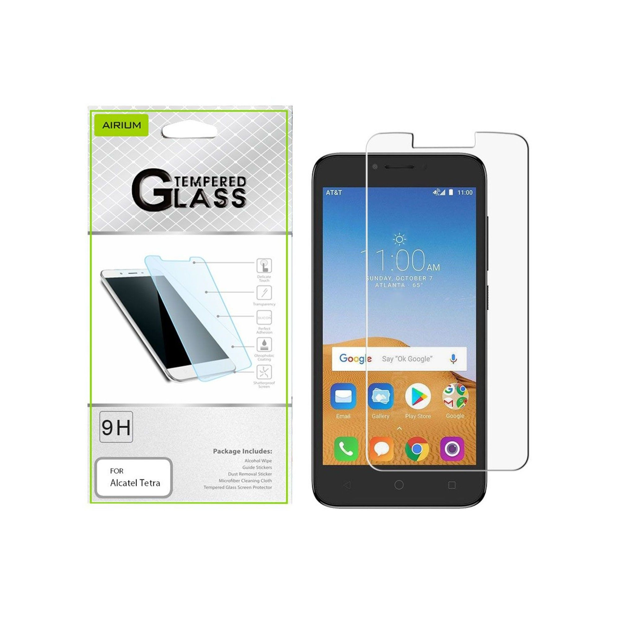 For Tetra Screen Protector By Insten Clear Tempered Glass Screen
