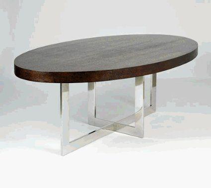 Amazon.com   Viva Modern 141 2   XO Dining Table   Wenge Oak