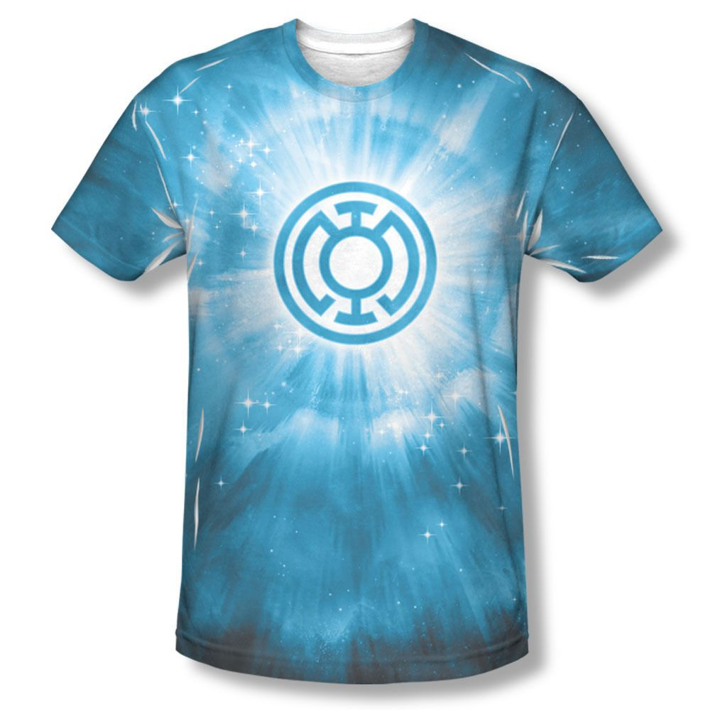 dc green lantern blue energy ring corp sublimation all