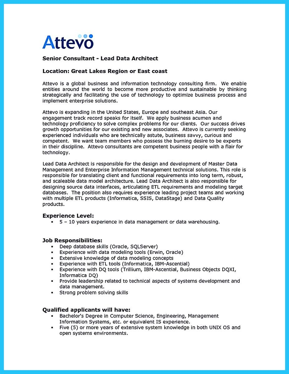 cool Outstanding Data Architect Resume Sample Collections, | resume ...