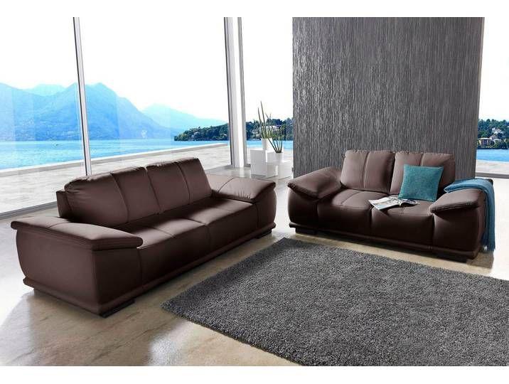 Sit More Set 2 5 Und Dreisitzer Braun Fsc Zertifiziert Sofas 3er Sofa