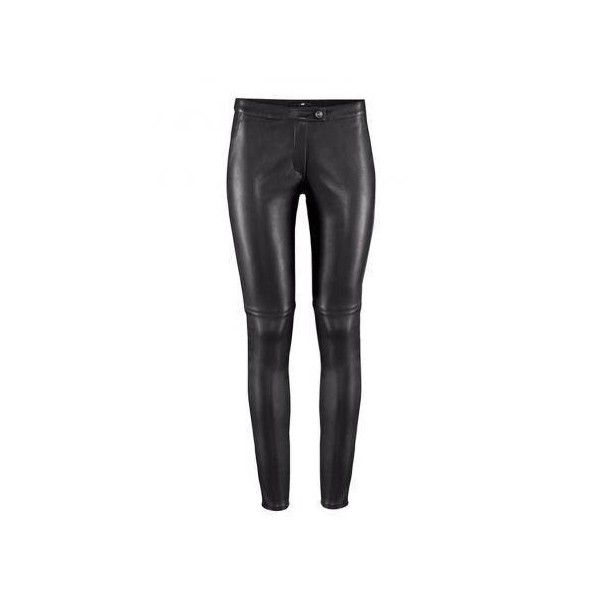 Sexy Slim Women Low Waist Tight PU Leather Leggings (46.755 COP) ❤ liked on Polyvore featuring pants, leggings, sexy white pants, legging pants, slim-fit trousers, pu leather pants and slimming leggings
