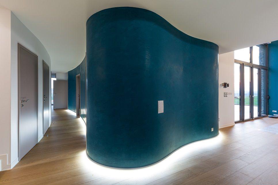 Murs Arrondis Design Credit Photo Olivier Lievin Pour Innov Habitat Grandes Maisons Maison Plan Maison