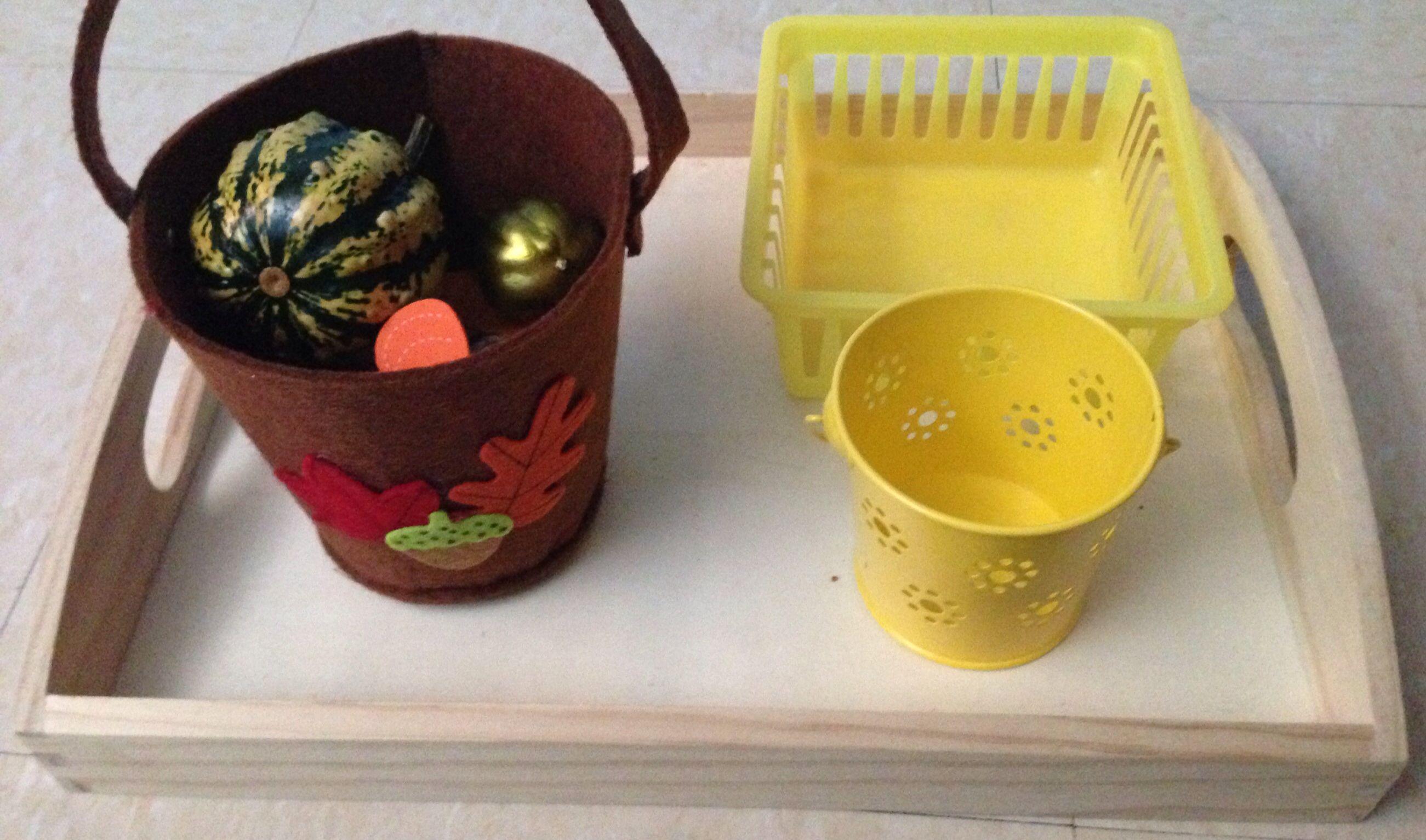 Montessori Sensorial Work