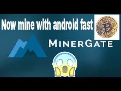Mine cryptocurrency on android phone