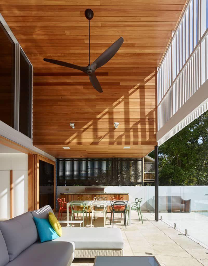 Dieses neue Zuhause verwischt die Linien von Indoor