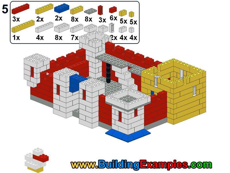 Lego Castle 5 Lego Instructions Pinterest Lego Castle Legos