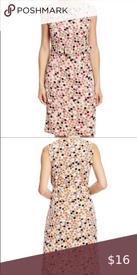 Polka Dot Dress with matching belt