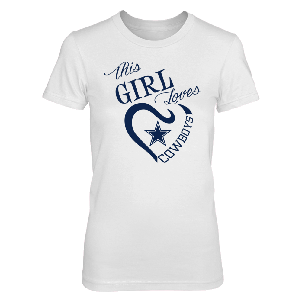 cf0354f8 This Girl Loves Cowboys | I Love the Dallas Cowboys | Dallas cowboys ...