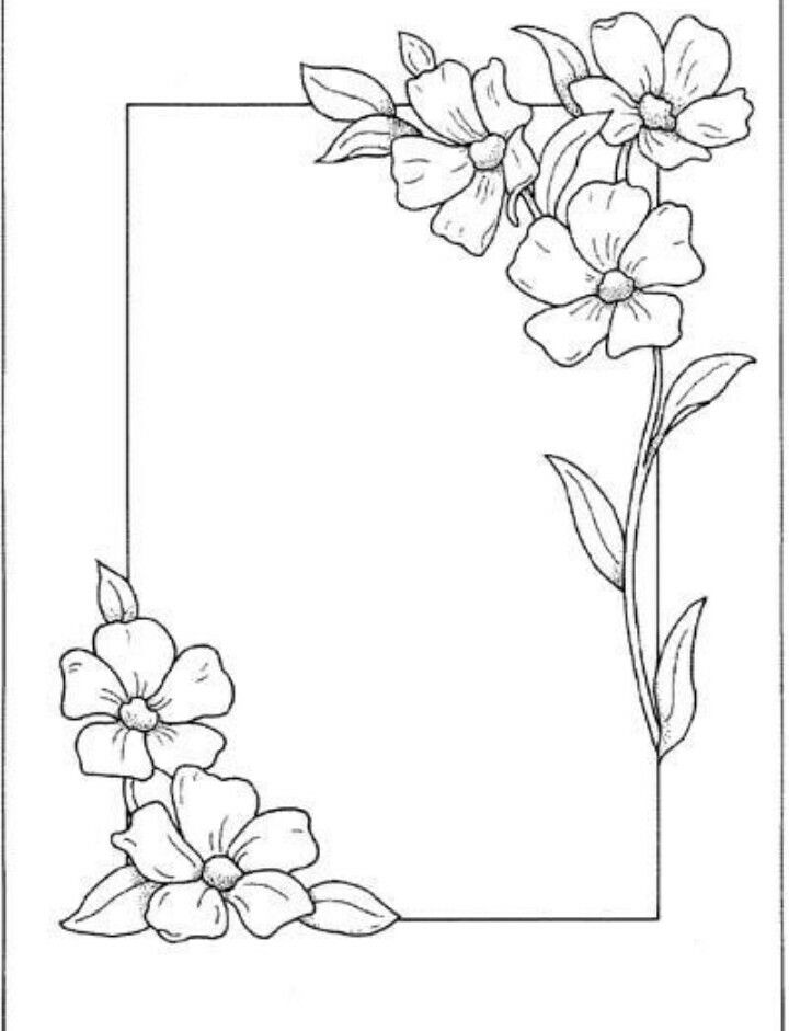 This Is The Best Design Page Borders Design Floral Border