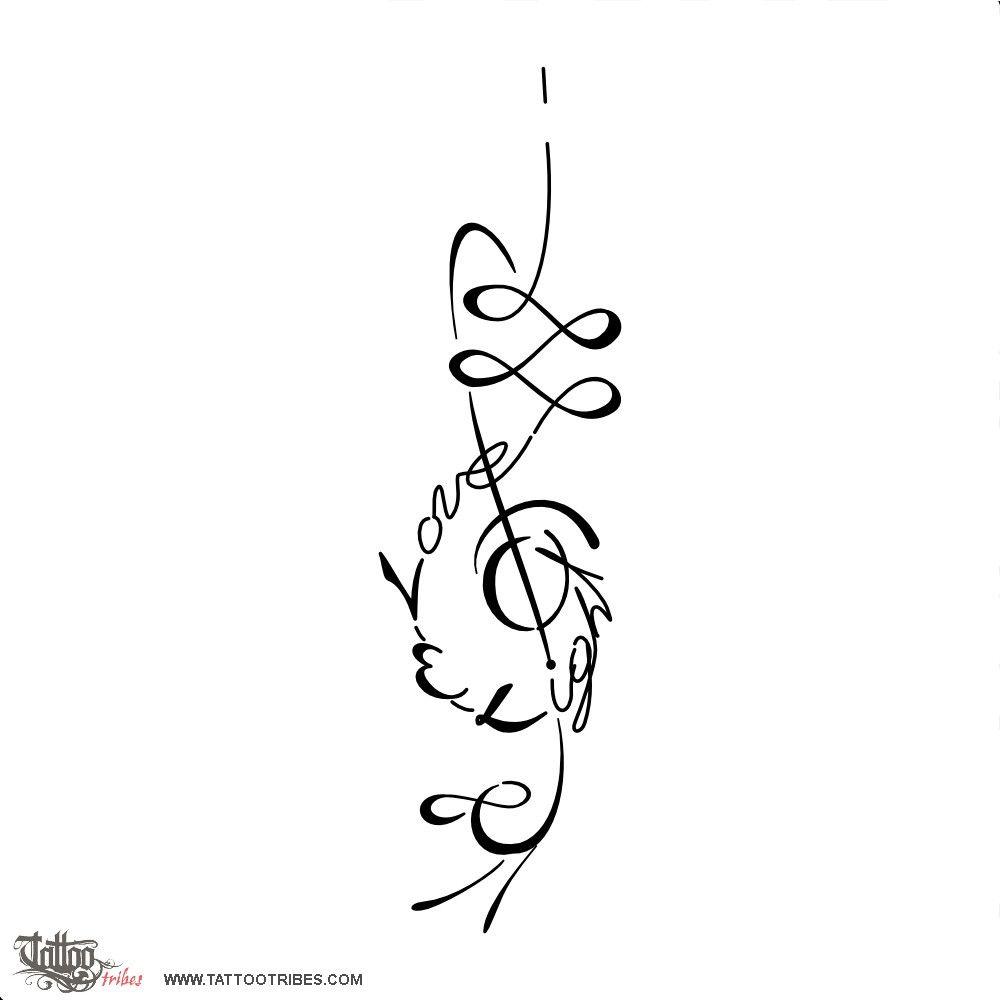 Bildergebnis Fr Unalome Tattoo With Infinity Tattoo