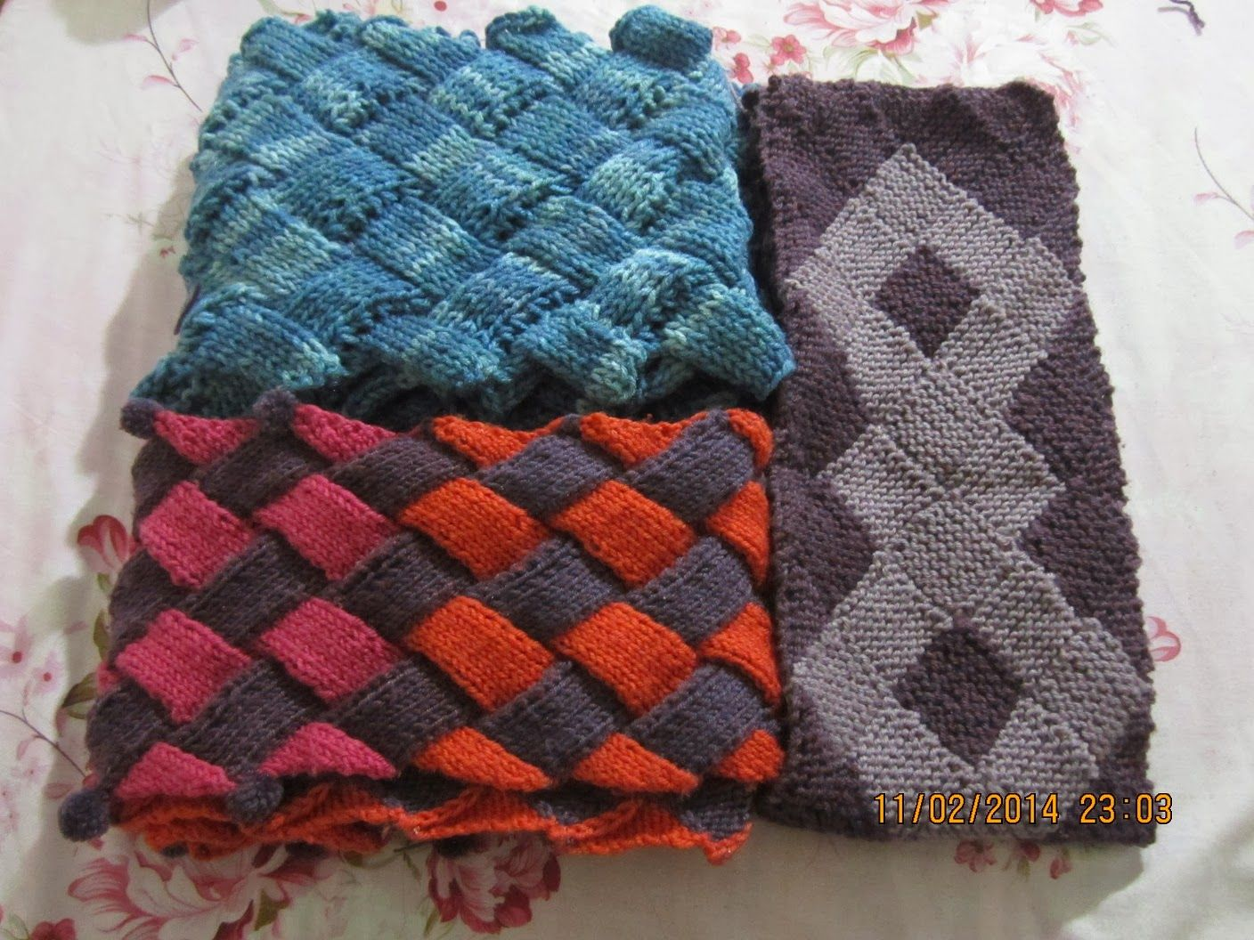 Learn How To Knit Entrelac with Video at YouTuBe.Com | Knitting ...
