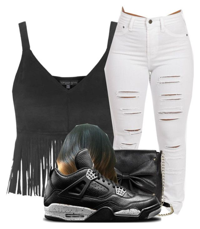 """‼️"" by syniya12345 ❤ liked on Polyvore featuring Topshop, Sam & Libby and NIKE"