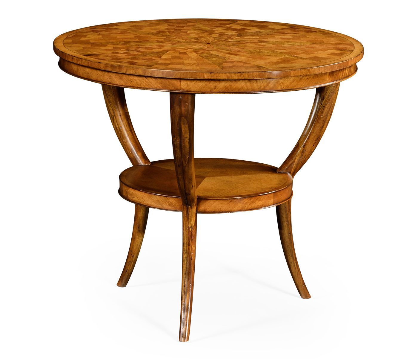 Regency Style Marquetry Center Table Center Table Table End Tables