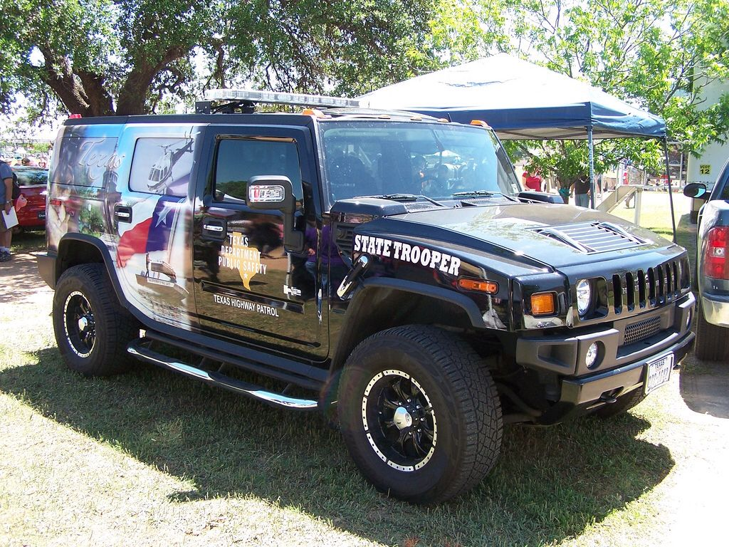 Texas State Trooper Hummer Texas state trooper, State