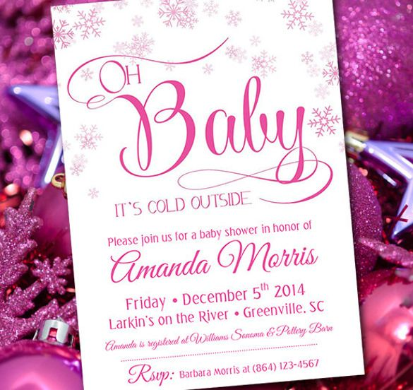 10+ Baby Shower Invitation Templates Free Printable Word  PDF
