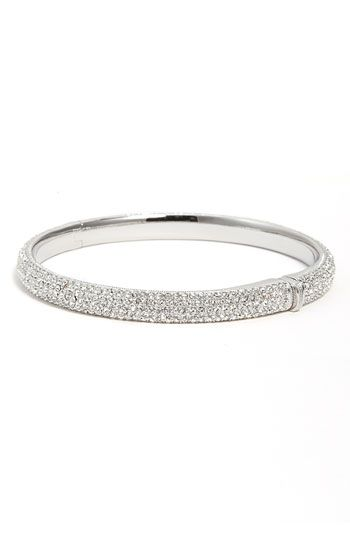 Nadri bangle from Nordstrom's - a little expensive, but a staple in my jewelry collection!  Goes with everything!