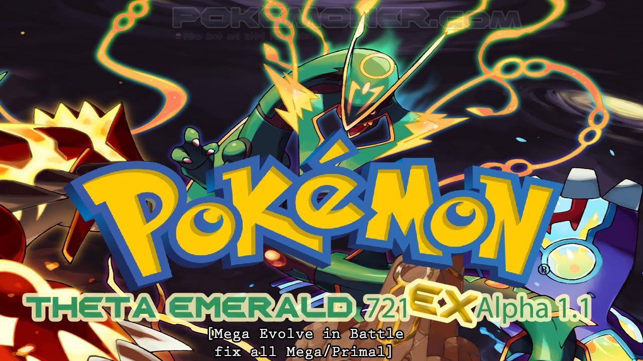 http://youtu.be/eq4-25cdZGY Pokemon Theta Emerald 721 EX Alpha 1.1 - Review