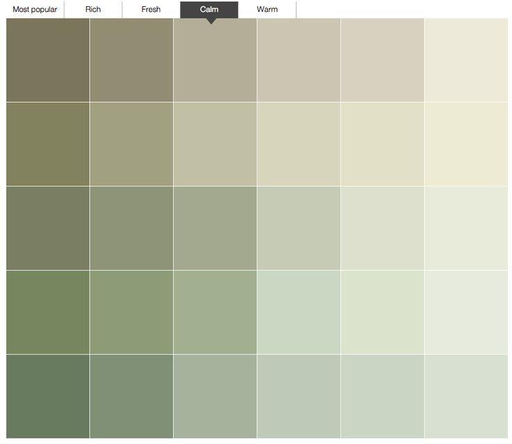 Colour Palette Paint Colour Charts Dulux Sage Green Kitchen Walls Sage Green Living Room Green Kitchen Walls