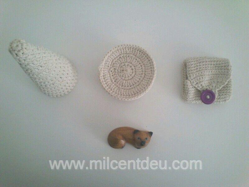 crochet #ganchillo #diy #diario #handmade #milcentdeu #blanco   1 ...