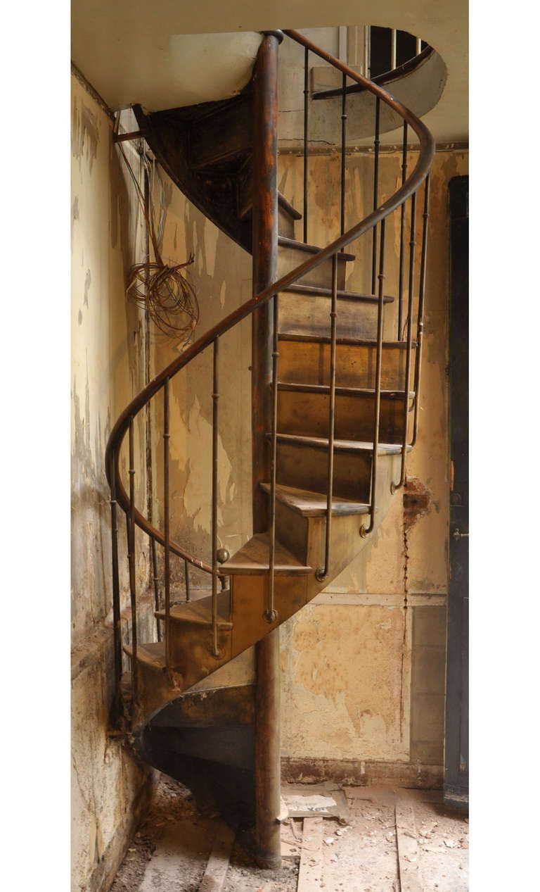 Best Antique Spiral Staircase 19Th Century Decorating With 640 x 480