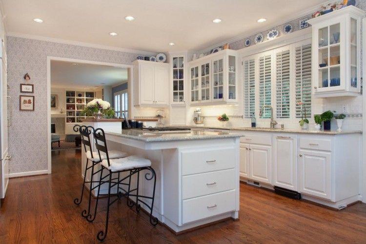 Colonial Kitchen Cabinet Ideas Kitchen Design Kitchen Remodel Kitchen Interior