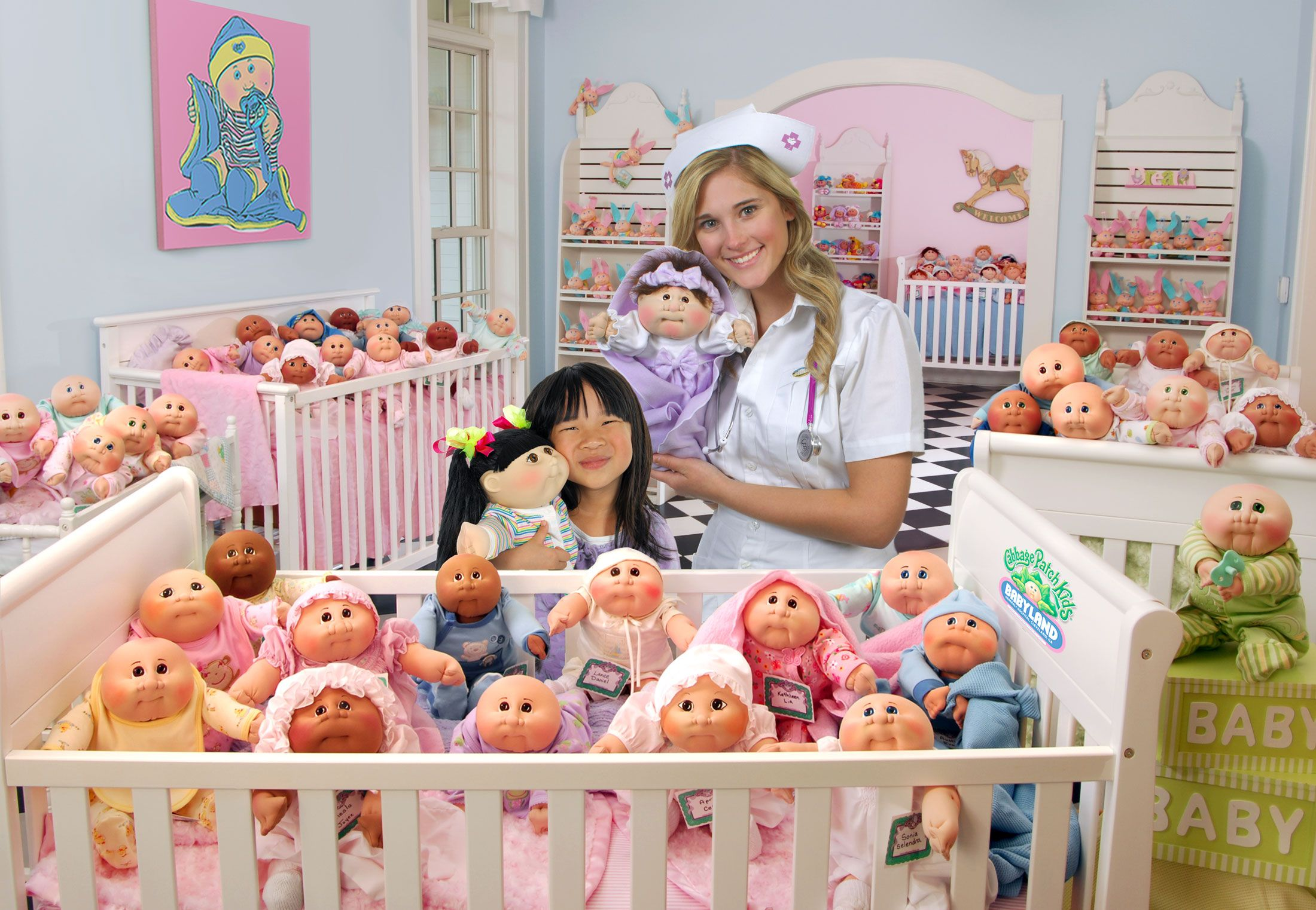 At The Cabbage Patch Kids Babyland General Hospital You