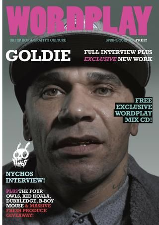 Here is Issue 09 of UK based WORDPLAY HipHop and Graffiti Magazine for free!