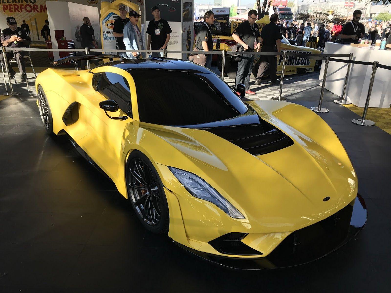 Hennessey Unveils 1 600 Hp 301 Mph Venom F5 In Vegas Beats