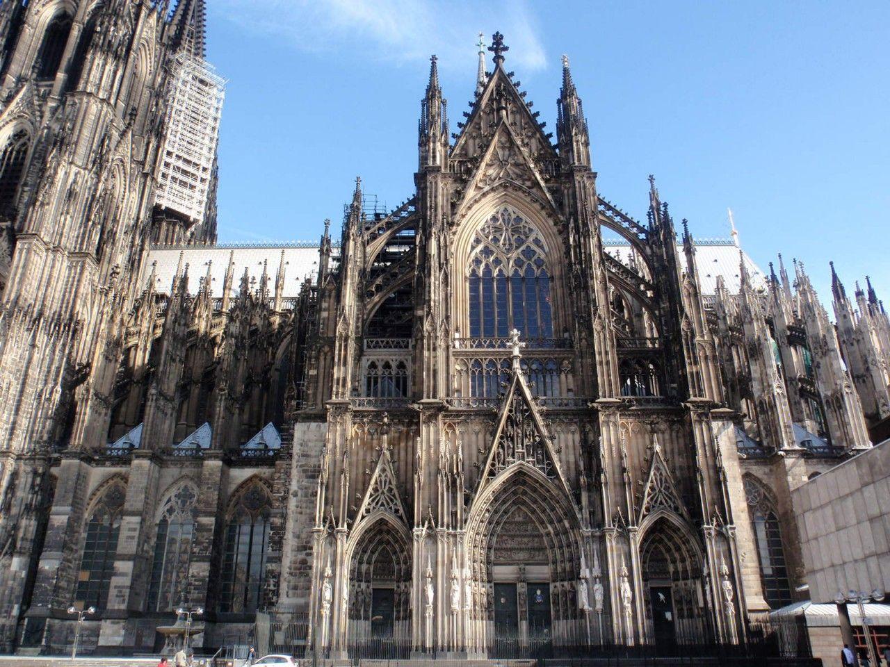 el g tico alem n catedral de colonia 1280 catedrales g ticas pinterest el gotico. Black Bedroom Furniture Sets. Home Design Ideas