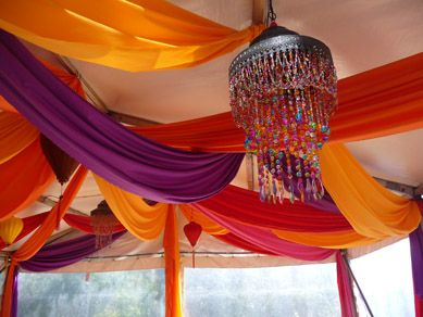 Fabric Ceiling Drapes Garden   Google Search