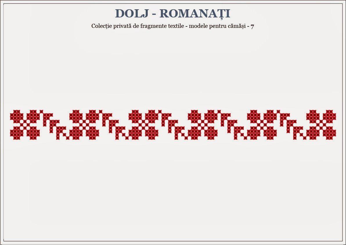 Semne Cusute: Romanian traditional motifs - OLTENIA, Dolj & Roma...